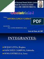 Historia Clinica Perinatal Base