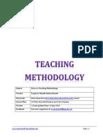 Saheefa Teaching Methodology V1.0