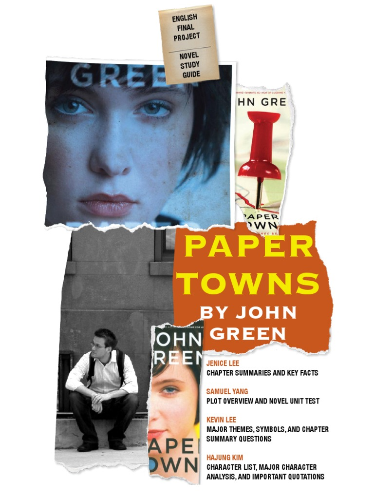 Paper towns john green plot