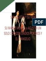 San Agustin y Su Vida