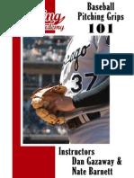 Baseball Pitching Grips 101