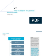 Constellation Brands Inc in Alcoholic Drinks (World)