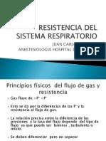 Resistencia Del Sistema Respiratorio