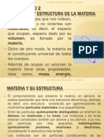 COMPOSICIÓN Y ESTRUCTURA DE LA MATERIA