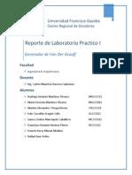 Reporte de Laboratorio Practico I