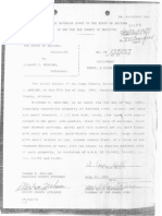 Document proving Ric's arrest for stealing jewelry