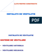 Sisteme de Ventilare 1