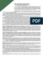 Dialogue Decalogue (Reading Material)