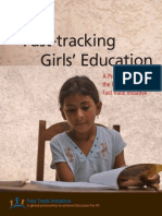 Fast Tracking Girls' Education