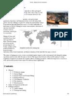 Mining - Wikipedia, The Free Encyclopedia