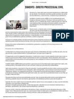 Processo e procedimento - Portal Educação