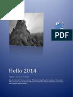 Hello 2014