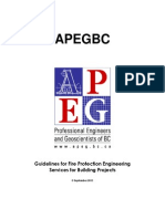 APEGBC-Guidelines for Fire Protection Engineering Services for Building Projects