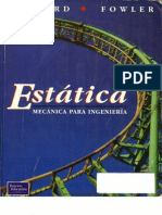 Mecánica para Ingeniería Estática [Anthony Bedford, Wallace Fowler]