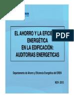 7. Auditorías energéticas de los edificios