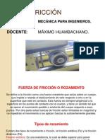 Ayuda 6.1 FRICCIÓN