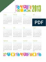 Any Year Calendar1