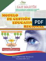Modelo de Gestion Educ Regional San Martin