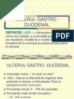 Ulcerul gastroduodenal