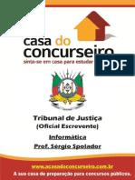 Apostila TJ Oficial Escrevente Sergio Spolador Informatica
