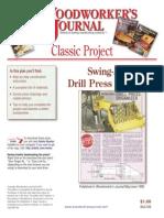 Drill Press Organizer
