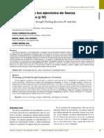 Terminologia de Los Ejercicios de Fuerza Con Sobrecargas (y IV)