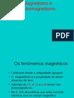 Magnetismo-electromagnetismo
