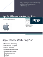 Apple iPhone Marketing Plan