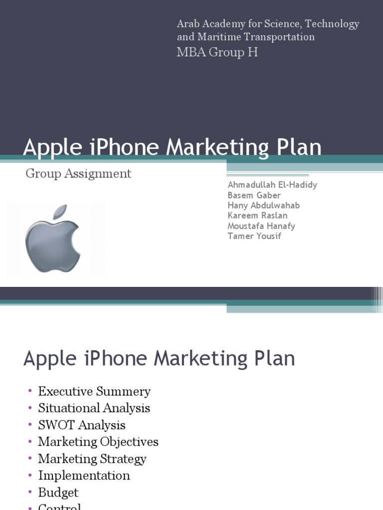 Marketing Strategy Of Apple Company Ppt - gaurani