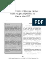 Associativismo Religioso e Capital Social na Gestão Pública de Guaraciaba (SC)
