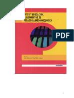 Libro Artes y Educ. Funds Ped Mesoaxio.