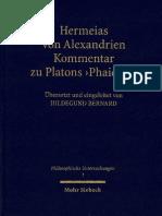 Hermeias Von Alexandrien Kommentar Zu Platons Phaidros