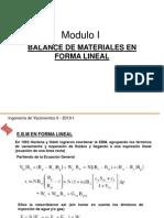 Ing. Yacimientos II - Mod I EBM Forma Lineal y Yac de Gas.ppt
