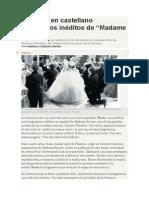 Publican en castellano fragmentos inéditos de Madame Bovary