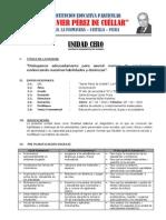 UNIDAD CERO - 3º