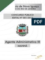 Agente Administrativo III-medio