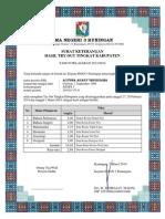 Laporan Nilai to Kabupaten - IPS
