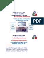 Curso Proceso Constructivo Obras Hidraulicas, Universidad La Molina-Angel