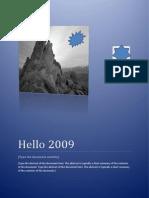 Hello 2009