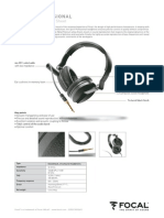 Headphones Spirit Professional specs