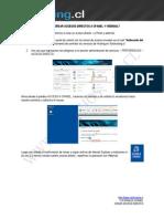 Crear acceso directo de cpanel y webmail