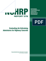 Evaluating Air-Entraining Admixtures for Highway Concrete