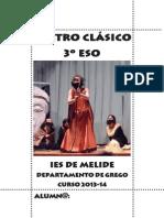Teatro grego. 3º de ESO. IES de Melide 2014
