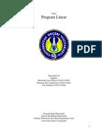 Program Linear Kelompok 10