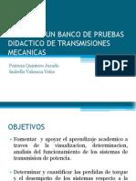 Presentación Banco de Pruebas