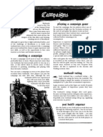 Mordheim Rulebook Part 3 - Campaigns