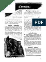 Mordheim Rulebook Part 3 - Campaigns