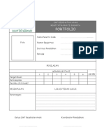 Dody Firmanda 2009 -  Portfolio Peserta Didik SMF Kesehatan Anak RSF