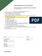 SBCSD Personal Vertical Skills Checkoff 11/08/04