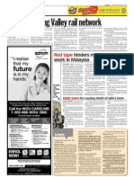 TheSun 2009-10-16 Page08 Boost for Klang Valley Rail Network
